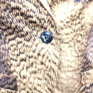Escada Jackets & Coats - %100 Authentic Escada Abstract Animal Print Jacket